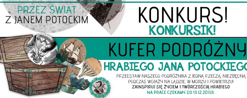 KUFER PODRÓŻNY -  konkurs z nagrodami