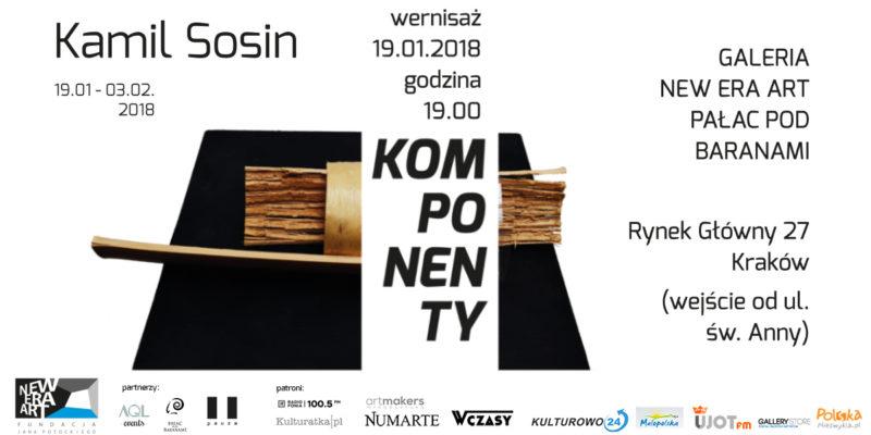 Wernisaż wystawy Kamil Sosin: Komponenty