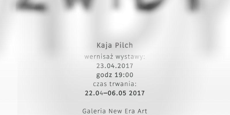 """Kaja Pilch """"Zwidy"""" w ramach Cracow Gallery Weekend"""